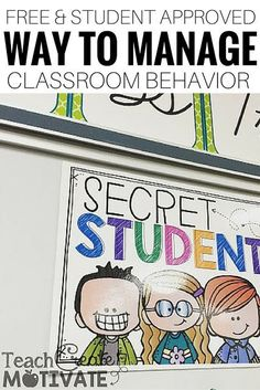 Want a student approved way to manage classroom behavior that requires no prep? Try this!!
