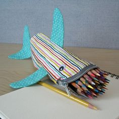 shark pencil bag