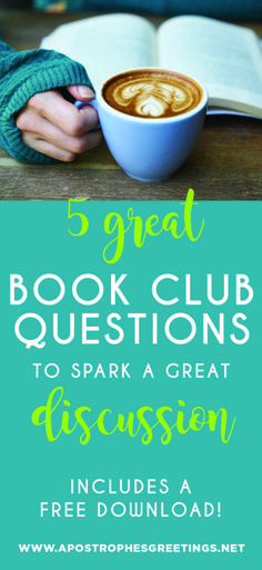 5 Book Club Questions to spark a great discussion — Apostrophe S Greetings Reading Themes, Reading Groups, Reading Lists, Book Lists, Best Books To Read, Good Books, Amazing Books, The Help Book, Book Club Questions