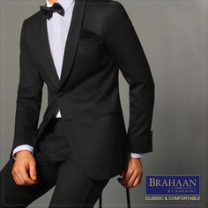 The complete man deserves a well-tailored suit that fits his body type classically & comfortably #BrahaanbyNarains #BespokebyBrahaan