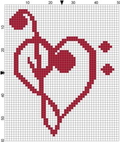 sandylandya@outlook.es Music heart Love perler bead pattern