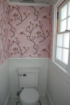 """Cole & Son's """"Magnolia"""" Wallpaper …. Obsessed! 