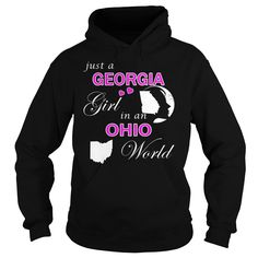 Georgia Girl in Ohio