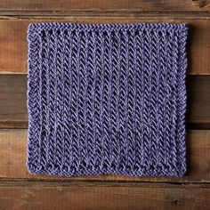 Lacy Spa Cloth - Knitting Patterns and Crochet Patterns from KnitPicks.com