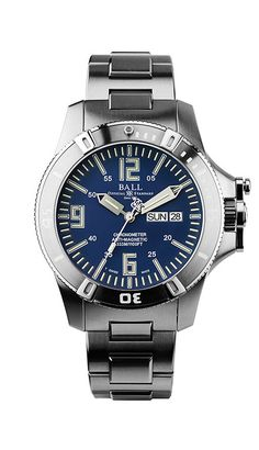 Ball Engineer Hydrocarbon Spacemaster Glow Chronometer Automatic