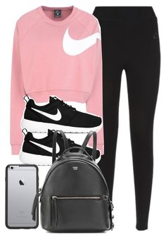 A fashion look from November 2017 featuring NIKE, nike trainers and fendi bags. Browse and shop related looks. Cute Sporty Outfits, Cute Workout Outfits, Cheer Outfits, Lazy Day Outfits, Mode Outfits, Simple Outfits, Everyday Outfits, Outfits For Teens, Sport Outfits