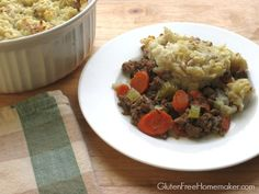 Shepherd's pie is a classic meal, and is usually well liked.  Unlike other casseroles, it is not saucy and doesn't use a creamed soup base.  I like the fact that it doesn't include cheese, which many casseroles do.  It is a naturally gluten and dairy free dish. Many people like peas in this recipe.  I …