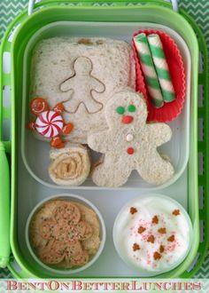 BentOnBetterLunches: Gingerbread Men!