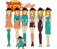 Phineas and Ferb fashion: Perry by Willemijn1991 on deviantART