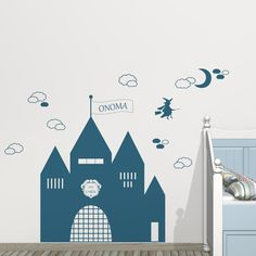 My Castle !  Walldecal for children's room.
