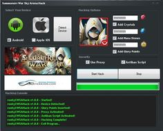Summoners War Sky Arena Hack Cheats Tool http://abiterrion.com/summoners-war-sky-arena-hack/