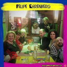 El pintor, escultor y grabadista mexicano llegó a Madrid con su primer exposición individual en España: 'Felipe Ehrenberg 67 / 15' y por supuesto vino a tomarse un tequila en Barriga Llena www.lapanzaesprimero.com #OrgullosamenteMexicanos #MexicanosenEspaña #CocinaMexMex
