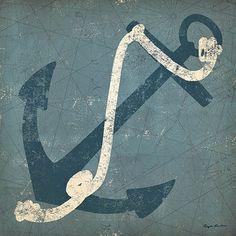 Nautical+Anchor+Blue