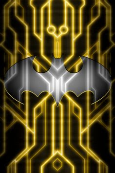 Batman Tron Suit background test 1 by KalEl7.deviantart.com on @DeviantArt