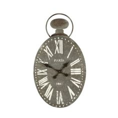 Paris Metal Wall Clock | Ballard Designs | European-inspired home furnishings