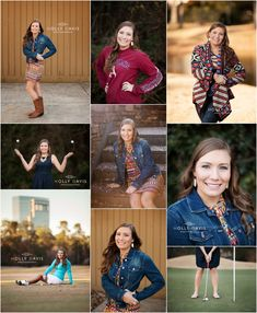 The Woodlands High School Senior Photography - Holly Davis Photography Photography Senior Pictures, Senior Portrait Photography, Senior Photos, Senior Portraits, Summer Senior Pictures, Golf Pictures, Picture Poses, Photo Poses, Picture Ideas