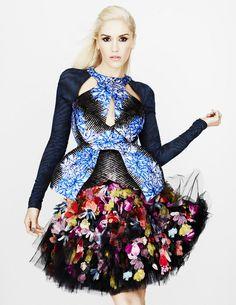 Gwen Stefani by Matt Irwin for UK Elle 2012