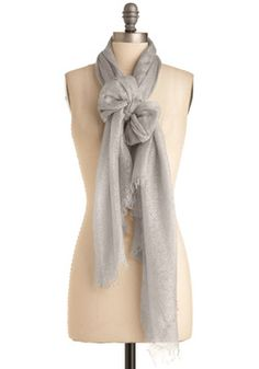 A Silver Flatter Scarf