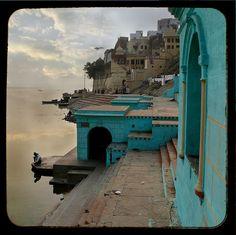 Varanasi, India - so beautiful. This looks extremely peaceful.