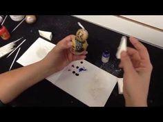 Creating a Gourd Ornament Snowman