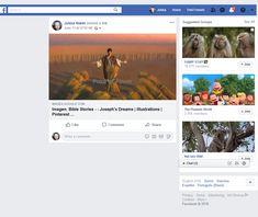 Screenshot: Jukka Niemi - Jukka Niemi shared a link. Joseph Dreams, Rod And Staff, Dream L, Find Friends, Bible Stories, Blessings, Blessed, Peace, Facebook