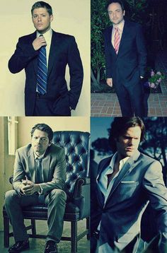 Guys in suits <3