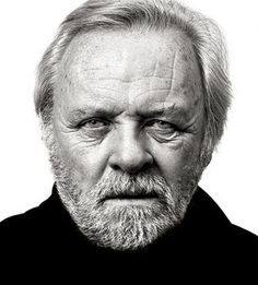 Sir Anthony Hopkins - © All images are copyrighted to Andy Gotts Celebrity Portraits, Celebrity Photos, Celebrity Faces, Celebrity Moms, Celebrity Style, Black And White Portraits, Black And White Photography, Andy Gotts, Sir Anthony Hopkins