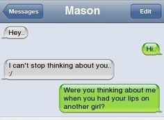 This person who asks the important questions. | 17 Of The Greatest Responses To An Ex Text Of All Time