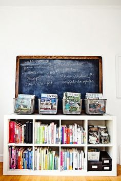 this makes me happy... and i would even like books in my kitchen :)  Brought to you by LG Studio