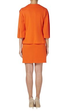 Orange skirt suit, circa 1980 - All Products - William Vintage