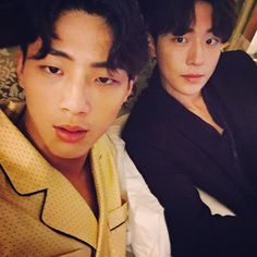 7 Bromantic photos of Ji Soo and Nam Joo Hyuk that give you life Nam Joo Hyuk Selca, Ji Soo Nam Joo Hyuk, Jong Hyuk, Lee Jong Suk, Korean Celebrities, Korean Actors, Korean Idols, Ji Soo Actor, Ahn Hyo Seop