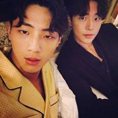 7 Bromantic photos of Ji Soo and Nam Joo Hyuk that give you life Nam Joo Hyuk Selca, Ji Soo Nam Joo Hyuk, Korean Celebrities, Korean Actors, Korean Idols, Moon Lovers Drama, Ji Soo Actor, Jong Hyuk, Lee Jong