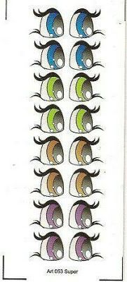 eye charts for the cutest eyes for figures Eye Painting, Painting Tips, Painting Techniques, Clay Pot Crafts, Rock Crafts, Doll Eyes, Doll Face, Craft Eyes, Flower Pot People