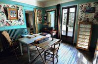 Una de las habitaciones del Museo-Casa de A. David Néel en Digne