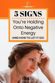 Negative energy is like a poison that slowly but consistently steals your joy.    If you're surrounded by negative people at work or at home, it's easy to absorb their energy without even noticing.