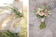 RAMOS DE OLIVO ramos-novia-olivo Wedding Bouquets, Wedding Dresses, Glass Vase, Table Decorations, Blog, Wedding Stuff, Amazing, Mediterranean Wedding, Boyfriends