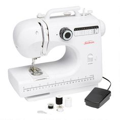 One of my favorite discoveries at ChristmasTreeShops.com: Sunbeam� Compact Sewing Machine