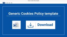 Download this Microsoft Word version of our Cookies Policy template and create your own custom Cookies Policy in just minutes. Cookies Policy, Custom Cookies, Microsoft Word, Templates, Create, Words, Stencils, Vorlage, Models