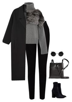 """Untitled #1350"" by streetyouth ❤ liked on Polyvore featuring EAST, Sally Lapointe, Monki, Valentino and Kara"