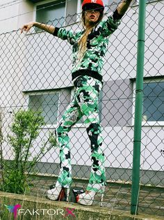 army women fashion style, hot camo suit women, millitary clothing, hot trends , new looks fashion cothing www.factorx.eu