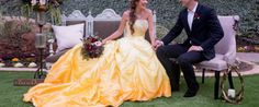 Enchanting 'Beauty and the Beast' wedding shoot will inspire Belle ...