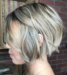Jaw-Length Choppy Bob