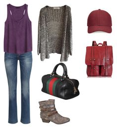 """212"" by tofly-22 ❤ liked on Polyvore featuring H&M, maurices, Whistles, Gucci and Retrò"