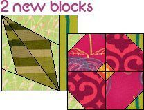 """Quilt Features 2 New blocks 1 Long horizontal border 24 New fabrics from various manufacturers  The overall size is 21½"""" by 45½"""". Use this quilt just as is or modify it any way you"""