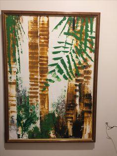 Las palmas by Pedro Amaya