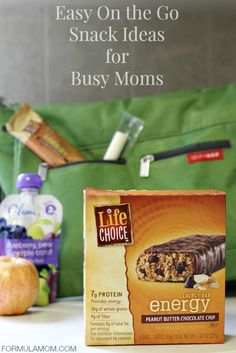 5 Easy On the Go Snacks for Busy Moms #BarNutrition #shop