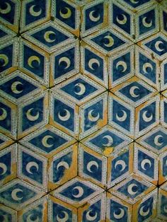 STEVEN ALEXANDER JOURNAL: Italy. Tile floor from Duomo, Siena, Italy.