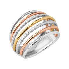Aurora Mixed Metal Cocktail Ring | Collections Aurora, Official Links of London