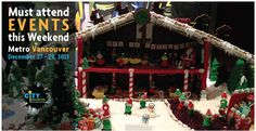 Check out this #weekend must #attend #events  in Metro #Vancouver #December 27 - 29, 2013 #holidays