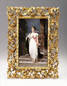 KPM Porcelain Plaque of Queen Louise